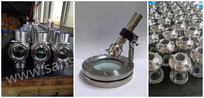 flange type sight glass