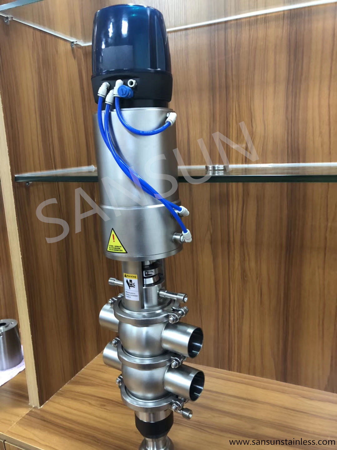 sanitary-stainless-steel-mixproof valve