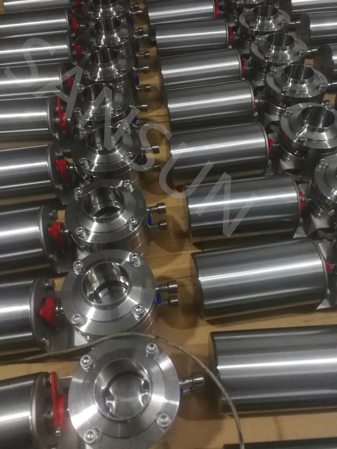 Manufacturer-stainless-steel-sanitary-mixing- proof- butterfly- valve