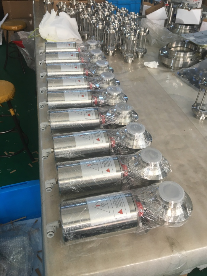 butterfly type ball valve